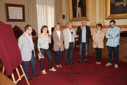Presentació del Memorial al saló de plens de l'Ajuntament