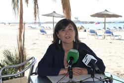 La platja de Vilanova va servir per parlar dels dos anys de govern en temes de via pública i mobilitat