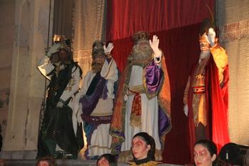 El patge reial Eliseu acompanya Melcior, Gaspar i Baltasar