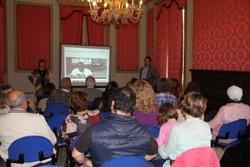 Els protagonistes van assistir a la presentació del blog