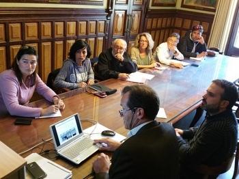 Reunió de la comissió de seguiment de la Façana marítima