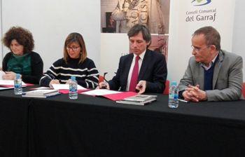 La signatura es va fer dimarts a la Masia d'en Cabanyes