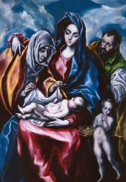 La Sagrada Família, del Greco