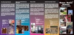 El document recull l'oferta museística de la ciutat