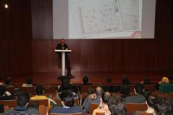 L'auditori de Neàpolis s'ha omplert per a la presentació dels projectes VNG Games