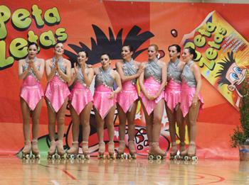 Les vilanovines van ser quartes al Campionat d'Espanya celebrat a VNG