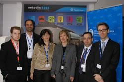 Representació de l'Ajuntament de VNG al MWC de 2012