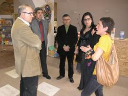 Ambdues representacions van acordar potenciar la xarxa d'agències locals de l'energia de Catalunya