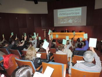 Votació de propostes a l'Assemblea Municipal Oberta