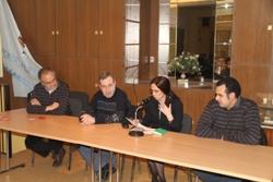 Xavier Capdet, Josep Ferrer, Mila Arcarons i Xavier Pol