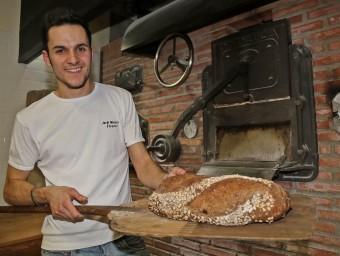 El forner vilanoví Jordi Morera