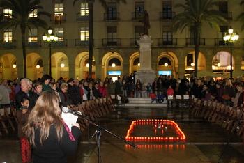 L'acte va comptar amb representants de les diverses entitats que formen el Casal de Dones