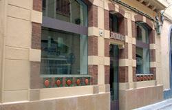 Seu de la Companyia d'Aigües al carrer del Col·legi