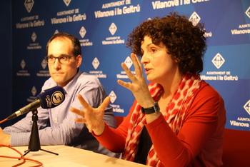 Teresa Llorens i Ignasi Gimeno van explicar els detalls dimarts en roda de premsa