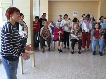 Blanca Albà a la Residència Els Josepets