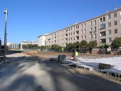 La urbanització del torrent està previst que finalitzi al mes de juny