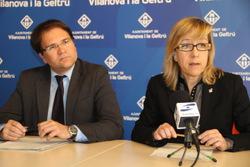 L'Alcadessa i el regidor Miquel Àngel Gargallo han parlat de la comissió aquest matí