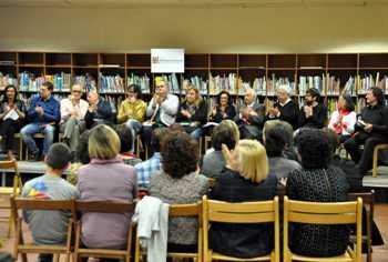 Reunir escriptors i escriptores, una bona manera de celebrar Sant Jordi