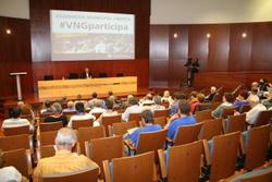 La segona Assemblea Municipal Oberta, a l'auditori de Neàpolis