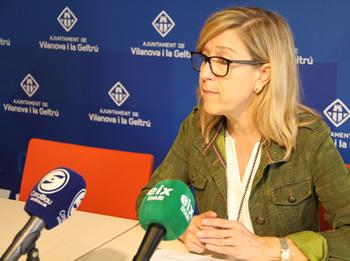 Neus Lloveras, alcaldessa de VNG