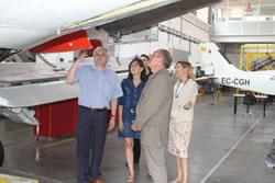 El director del SOC, Joan Aregio, que fa uns dies va visitar l'EFAV, també formarà part del consell assessor