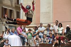 Tres dies de circ a Vilanova i la Geltrú, amb Trapezi