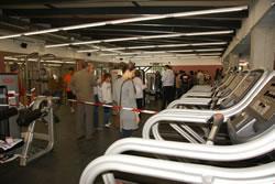 Molts vilanovins van visitar el nou equipament d'esport i salut Esportiu La Piscina
