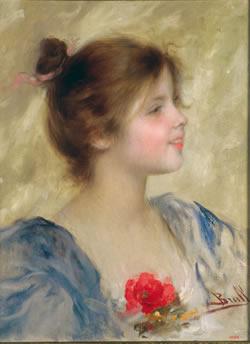 'Retrat de nena' de Joan Brull