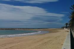 Amb l'actuació la platja serà més ample i estarà més protegida
