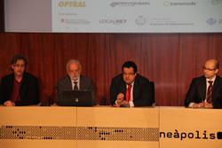 A Neàpolis s'ha celebrat la primera jornada sobre fibra òptica als municipis