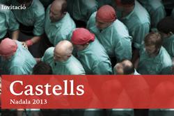 Dissabte es presenta 'Castells', el llibre Nadala 2013