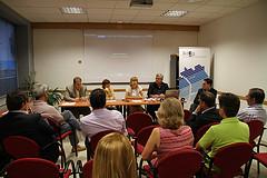 Presentació dels Special Olympics al sector econòmic, a la seu de l'ADEG