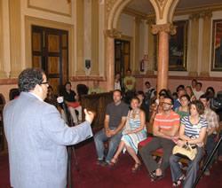L'alcalde va donar la benvinguda als nous ciutadans i ciutadanes