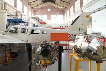 Hangar de l'Escola d'Aeronàutica