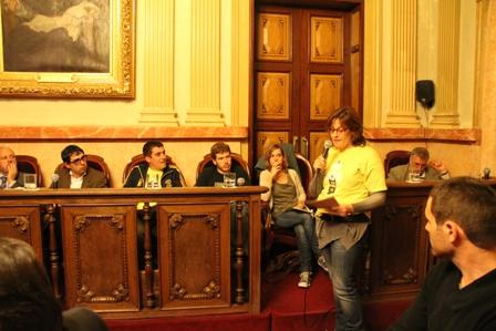 Intervenció al Ple de Rosa Soler de l'AMPA Sant Jordi Vilanova