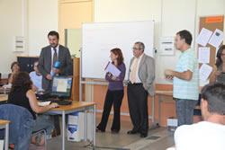 El director del SOC ha conversat amb els usuaris de l'aula