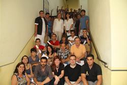 Alumnes i professors dels PQPI