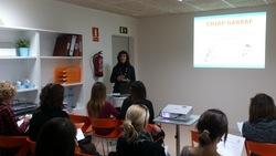 La primera xerrada es va fer al mateix local CDIAP Garraf 2, i la resta es faran al centre cívic La Geltrú