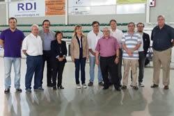Autoritats presentació CE Alfa
