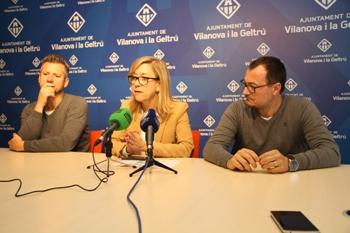 Juan Giribet, Neus Lloveras i Juan Luís Ruiz
