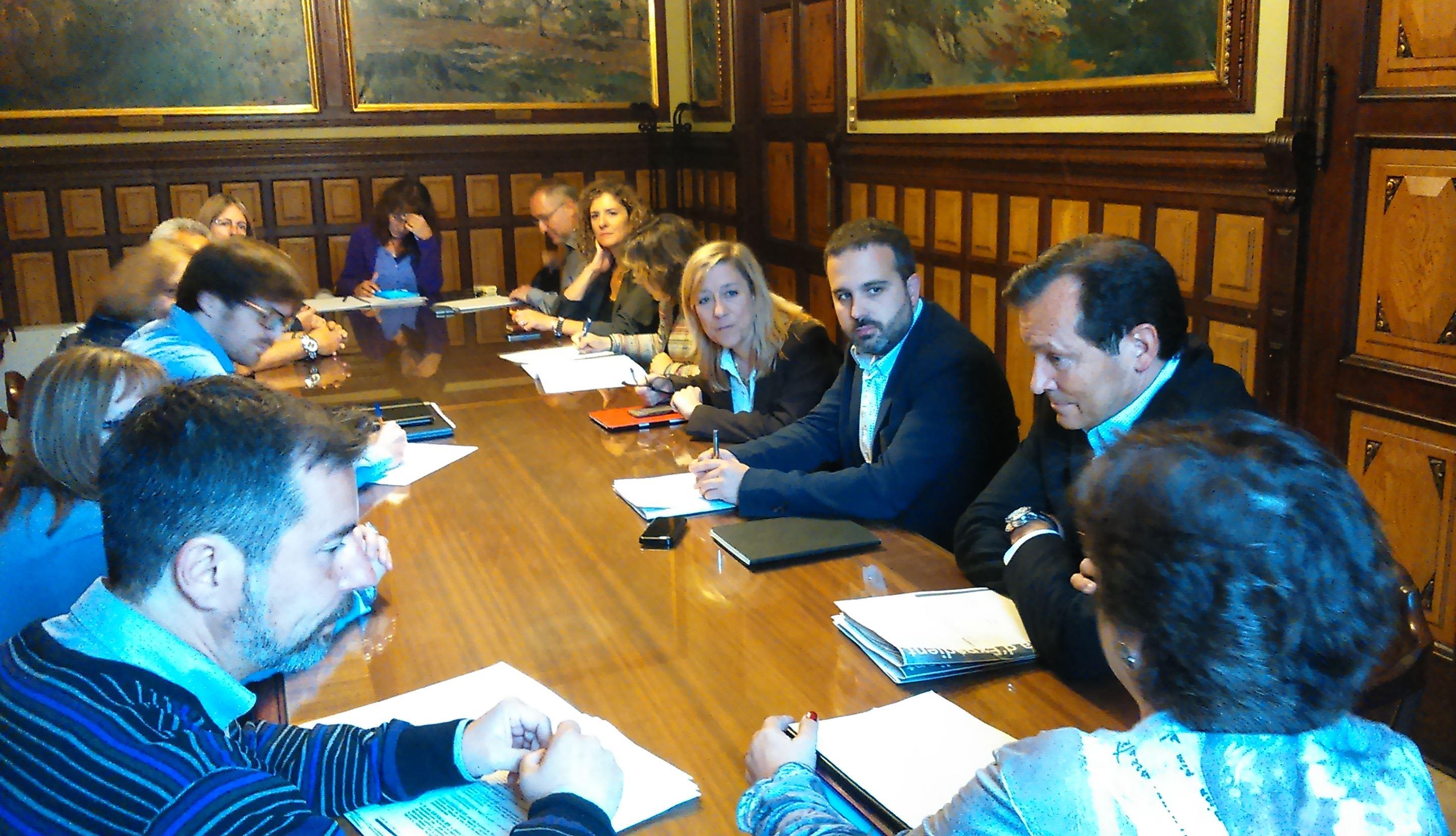 Reunió Ajuntament - Generalitat - Les Llunes