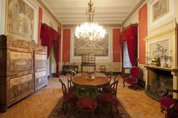 El menjador és una de les estances del Museu Romàntic Can Papiol que es pot visitar
