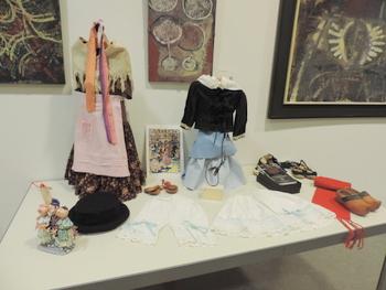 Alguns dels vestits que es podran veure a l'exposició
