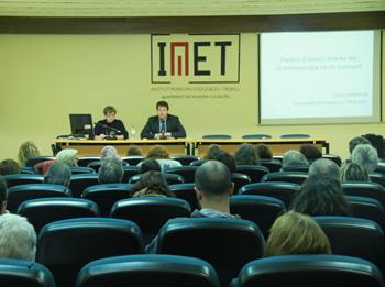 Moment de la conferència