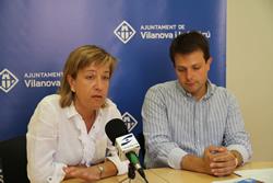 Neus Lloveras i Gerard Figueras han explicat els primers canvis que es faran en l'edició d'enguany de la Fira de Novembre