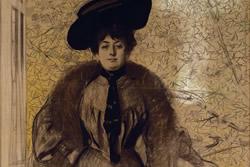 Retrat de senyora. Ramon Casas