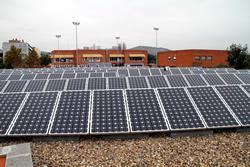 Plaques fotovoltaiques de l'Escateret