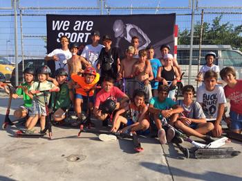 Grup d'Skater's al Juanita's