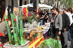 Vilanova i la Geltrú celebra una nova diada de Sant Jordi