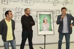 Raül Ramos, David D'Eboli i Gerard Figueras